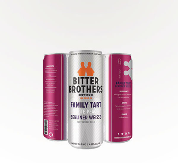 Bitter Brothers Brewing Family Tart Seasonal - White Peach