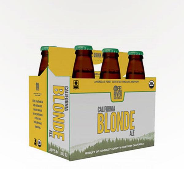 Eel River Org Blonde Ale 6pkb