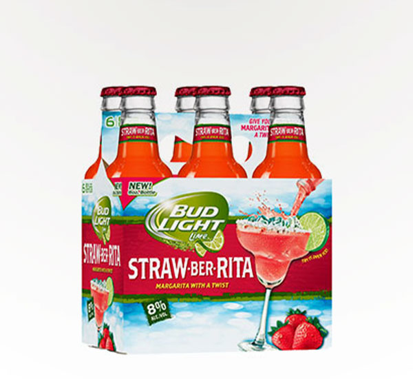 Bud Light Straw-Ber-Rita