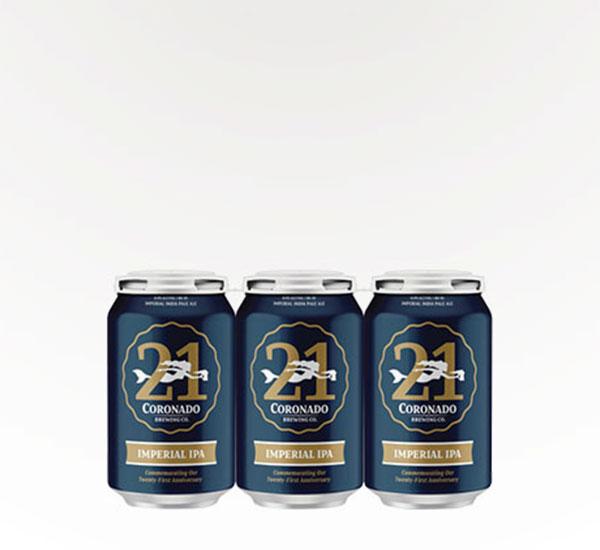 Coronado Brewing 21st Anniversary Imperial IPA