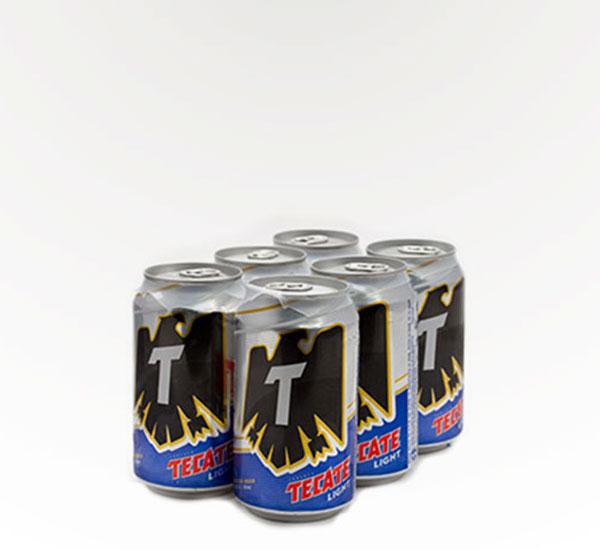 Tecate Light 6-pk Can
