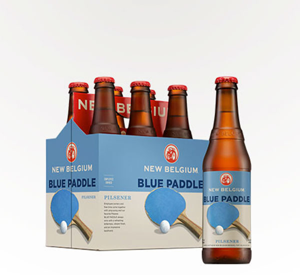 New Belgium Blue Paddle Pilsner