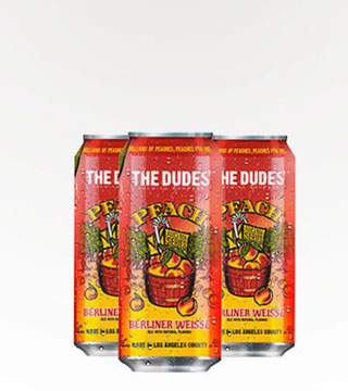 The Dude's Juicebox Peach Berliner Weisse