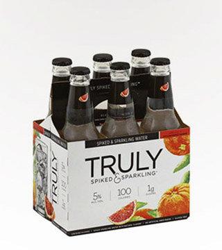 Truly Spiked & Sparkling Blood Orange