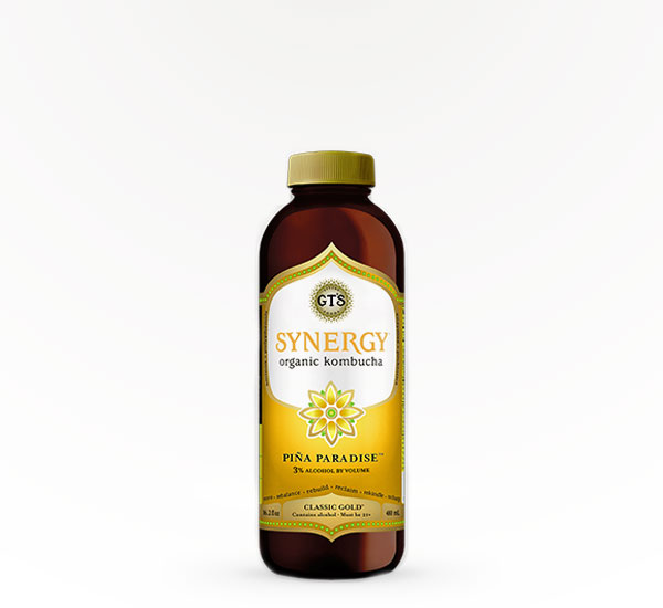 GT's Synergy Kombucha Pineapple