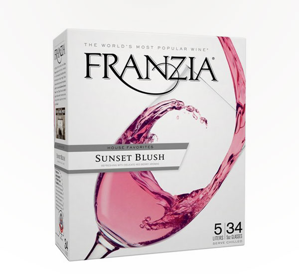 Franzia Sunset Blush 5l Box
