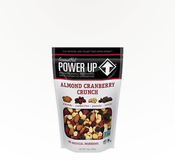 Power Up Almnd Cran Mix 14Oz