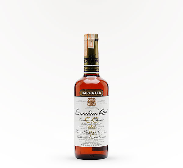 Canadian Club Blended Canadian 6 Year