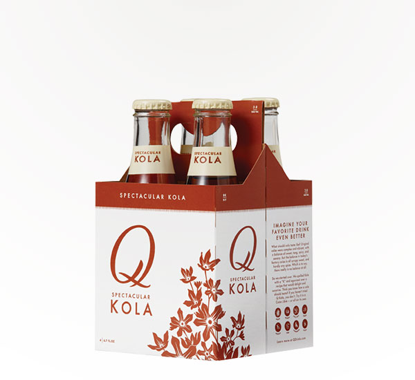 Q-Drinks Kola 6.7 oz 4pkb