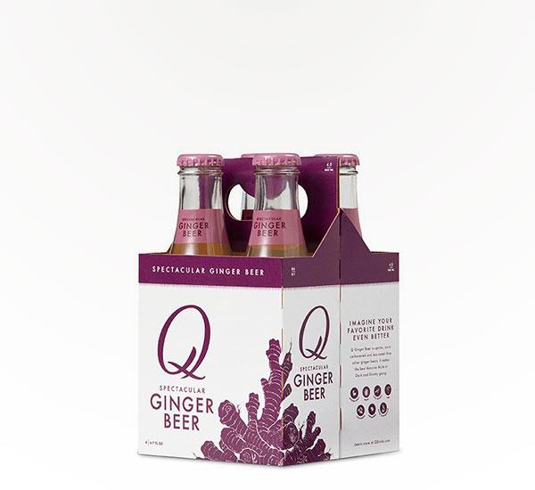 Q-Drinks Ginger Beer 6.7 oz 4pkb
