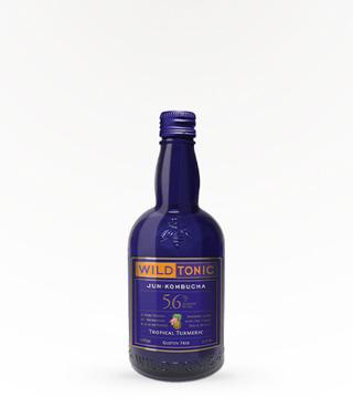 Wild Tonic Tropical Turmeric Kombucha 16oz