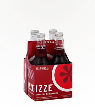 Izze Pomegranate 4-pack