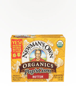 Newman's Organic Microwave Popcorn