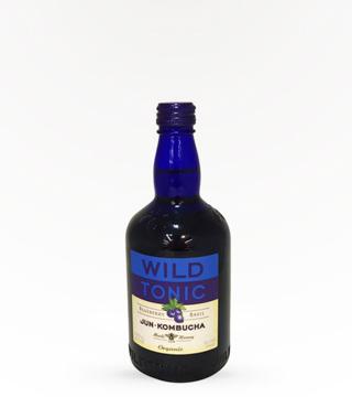 Wild Tonic Blueberry Basil Kombucha 160z