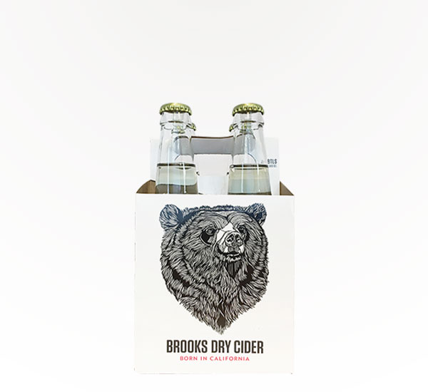 BROOKS DRY CIDER 4PKB