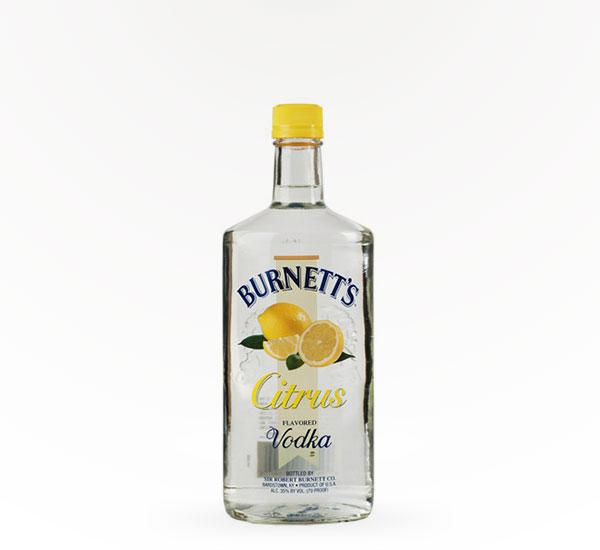 Burnetts Citrus Vodka