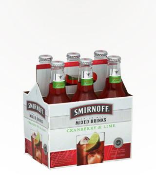 Smirnoff Premium Mixed Cranberry & Lime
