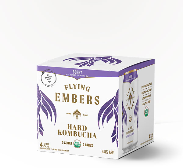 Flying Embers Hard Kombucha
