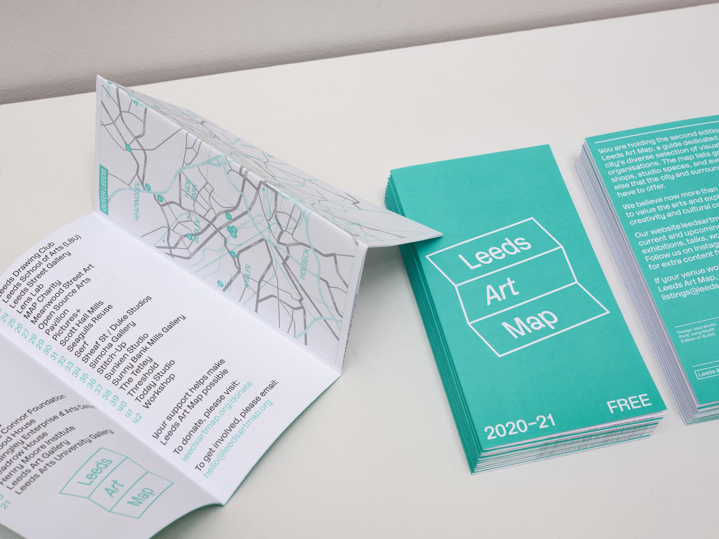 saul studio — Leeds Art Map