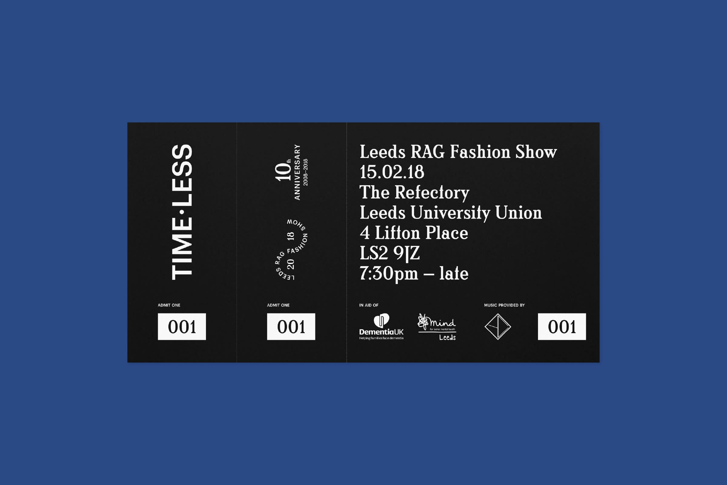 saul studio — Leeds RAG Fashion Show 2018