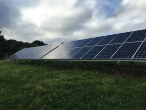 commercial ground mount solar panels
