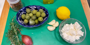 LIVE,� LOVE, & EAT IN SAYULITA: A Recipe for Roasted Olives with Feta Cheese
