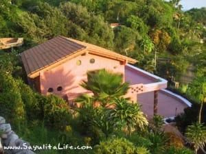 Casa Botellas: A Sayulita Nayarit Mexico Vacation Rental House - an old house photo, but shows patios