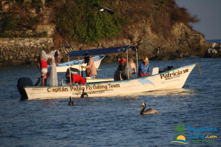 Capitan Pablo's Fishing Tours in Sayulita Mexico