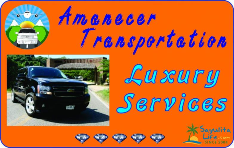 Amanecer Transportation in Sayulita Mexico
