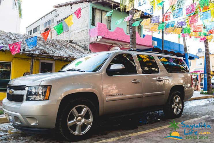 Sayulita Luxury Transportation in Sayulita Mexico
