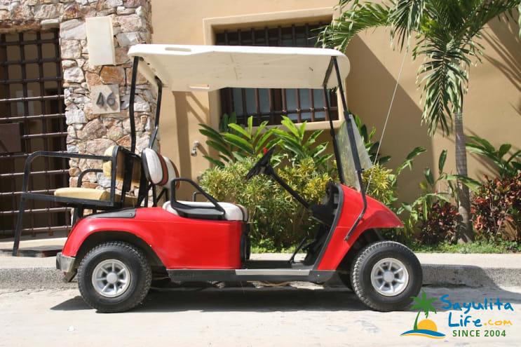 Roy's Golf Carts in Sayulita Mexico