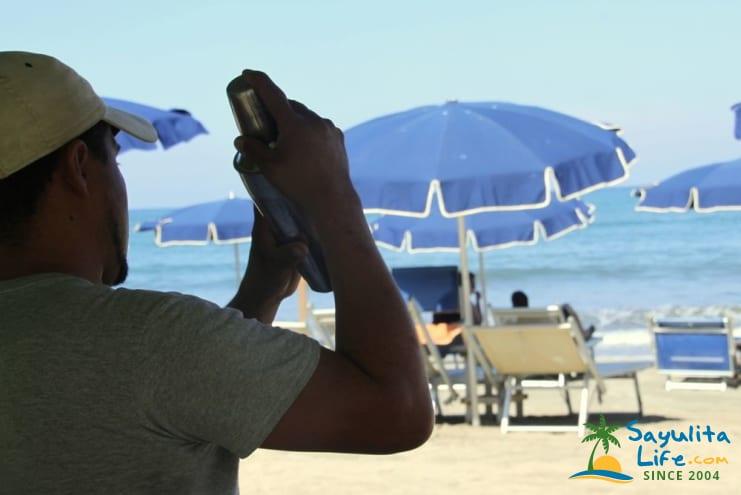 Mi Chaparrita Beach Club in Sayulita Mexico