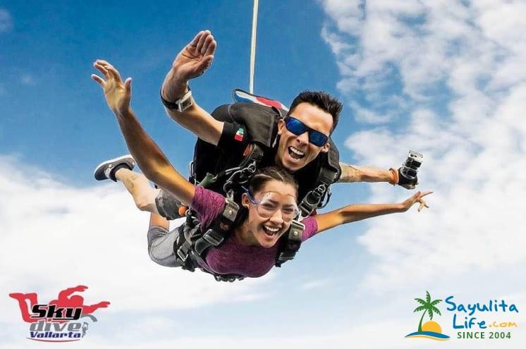 Skydive Vallarta in Sayulita Mexico