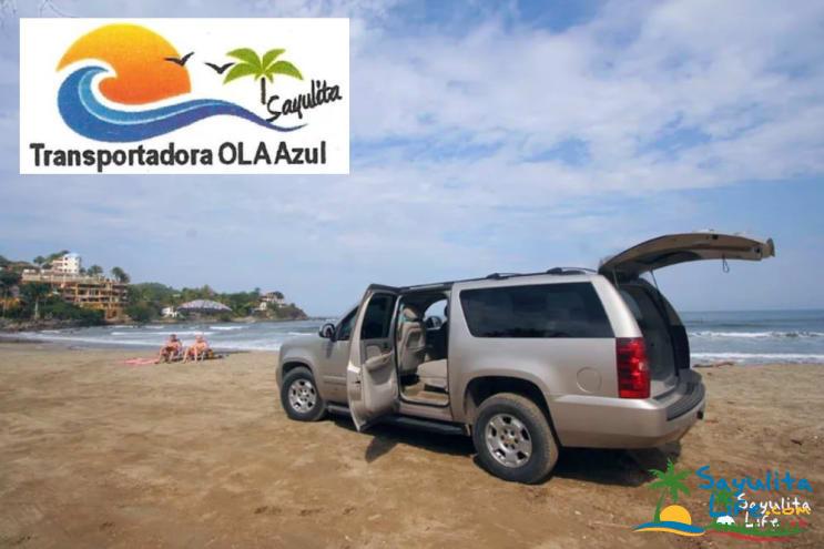 Ola Azul Transportation in Sayulita Mexico