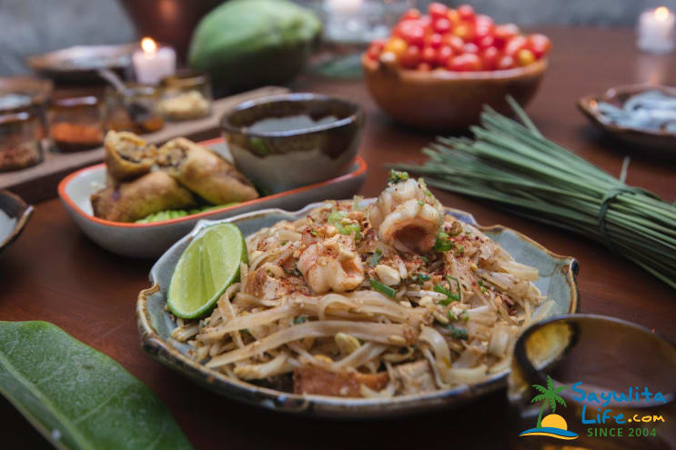 Achara Thai Restaurant & Bar in Sayulita Mexico
