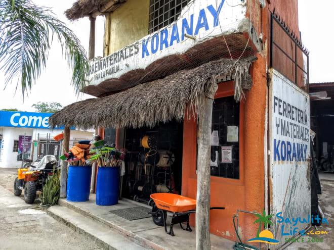 Ferreteria Y Materiales Koranay in Sayulita Mexico