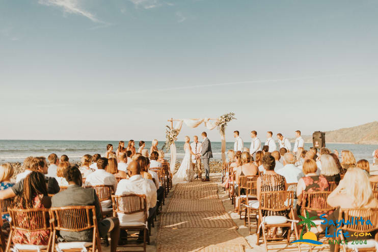 Playa Secreta Weddings in Sayulita Mexico