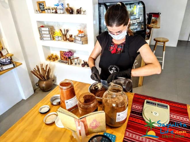 Sana Spices in Sayulita Mexico