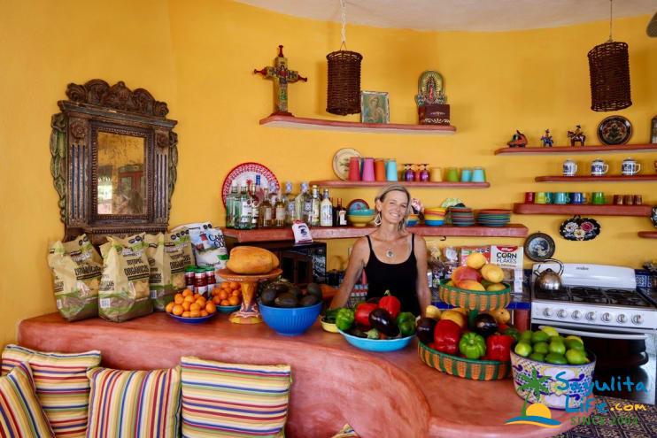 Busy Burro in Sayulita Mexico