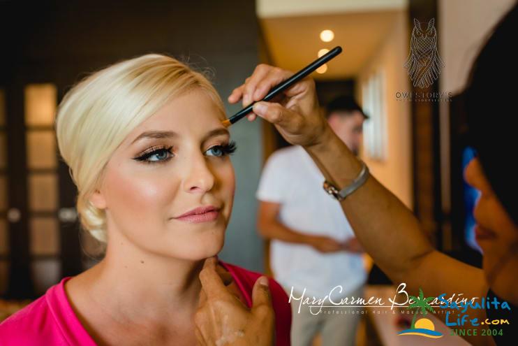 Bridal Makeup & Hair By Mary Carmen in Sayulita Mexico