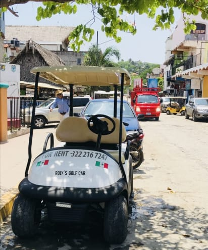 Roly's Golf Cars in Sayulita Mexico