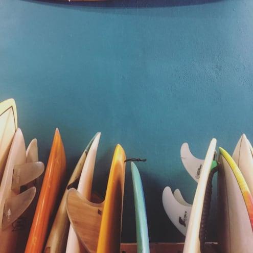 Quiverito Surf Shop in Sayulita Mexico