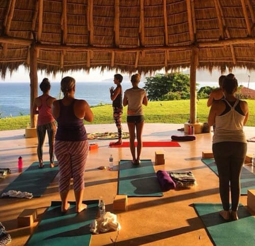 Surf & Yoga With Leah in Sayulita Mexico