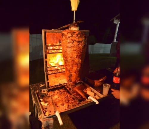 Tacos Al Pastor Tal Ivan in Sayulita Mexico