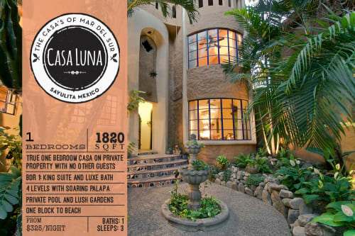 Casa Luna Vacation Rental in Sayulita Mexico