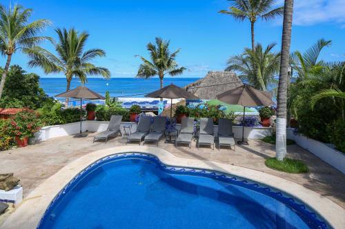 Poolside Guest Room At Casa Campana Vacation Rental in Sayulita Mexico