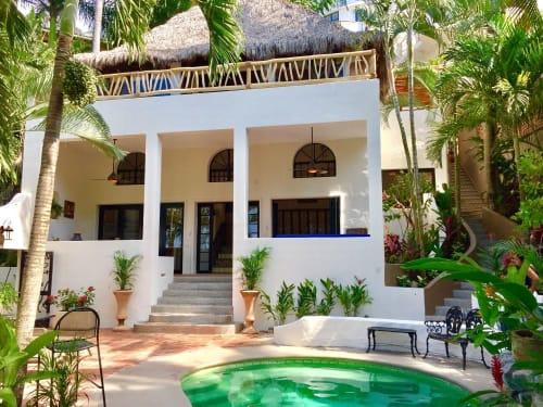 Casa Sonrisa Poolside Vacation Rental in Sayulita Mexico