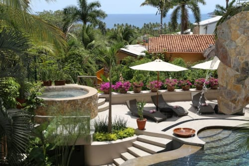Casa Las Palmas Estate Vacation Rental in Sayulita Mexico