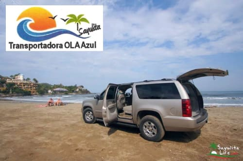 Ola Azul Transportation in Sayulita Mexico