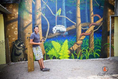 Artist Antonio Hernández in Sayulita Mexico